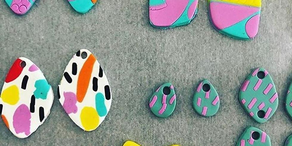 DIY Earrings | Polymer Clay