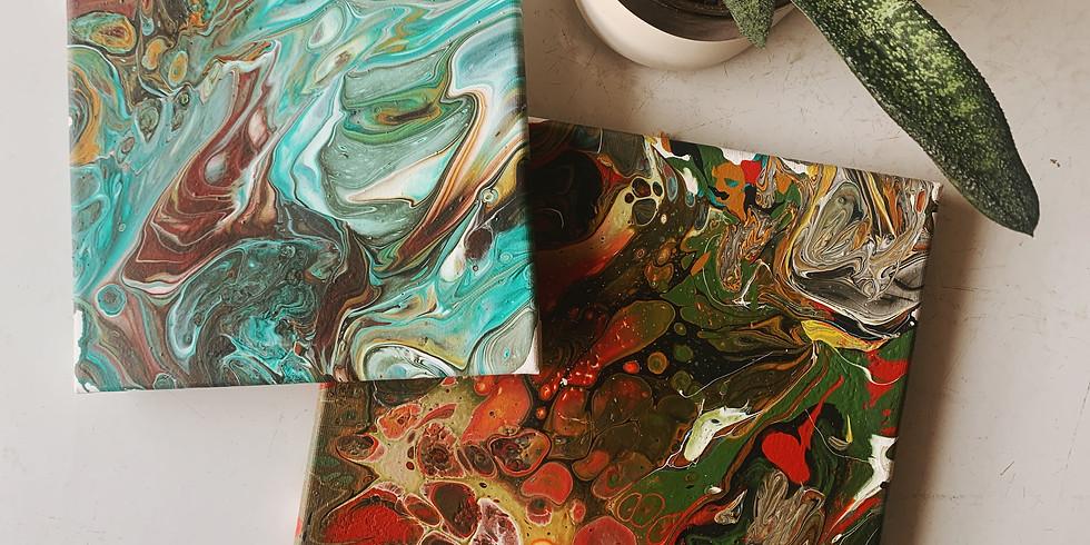 DIY | Acrylic Paint Pour