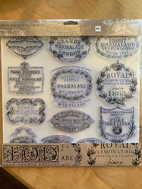 Decor Stamp, Crockery