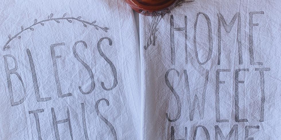 DIY Tea Towel   Make One, Give One!