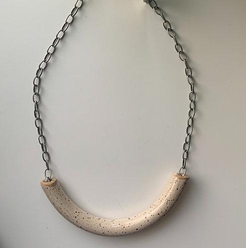 Ceramic Necklace, Handmade