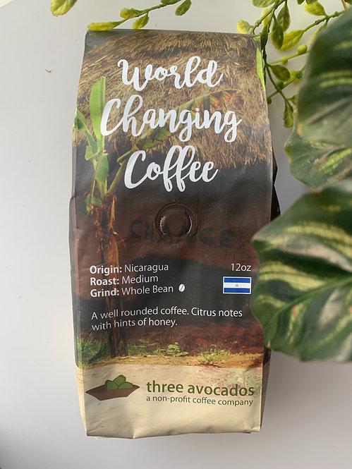 Coffee Beans (12 oz), Nicaragua