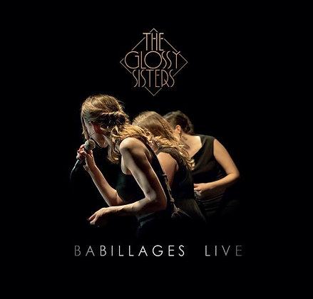 "ALBUM ""BABILLAGES LIVE"" Version Digitale"