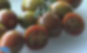 Chocolate sprinkles tomato