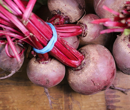 Here is the Early Wonder Tall Top Red Beet, Beta vulgaris. Itis a Biennial and has been a favorite since the 90's! They are a dark red beet with higher sugar content that makes the best juice. They get to around 2.5 inches roundbut can get much larger in loose an loamy soils. This verity is best for canning, soups or juicing. The leaves are great in salads and can be juiced as well. The juice is very sweet and has a smooth flavor. great when mixed with carrot, apple and a twist of ginger! We also recommend this variety as a microgreen and sprouts. Open pollinated 50 to 60 days till harvest or let it winter over for seed.