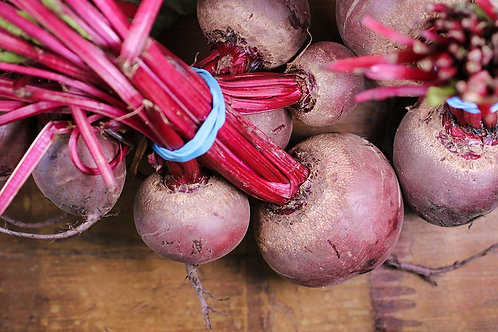 Here is the Early Wonder Tall Top Red Beet, Beta vulgaris. Itis a Biennial and has been a favorite since the 90's! They are
