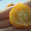Here is the Mountain Gold Tomato, NC 84173, Solanum lycopersicum, new for 2019. Released in 1991, developed by Dr. Randy Gard