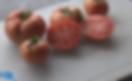 Chocolate stripes tomato