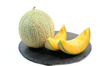 Here is the Cantaloupe Melon, Cucumis melo var. cantalupo. This melon comes from local farms here in NE Pennsylvania. These melons are a local variety and may even be an heirloom! Most of the time they get to 4 or 5 inches round but in really good soil they can get to 6 inches with a typical rind. Vines can get to 10 feet long and put out as many as a 7 or more fruits! Melons can range in size from 4 inches to 6 inches round. It has a very smooth lightly sweet Cantaloupe Melon flavor. We found them to have a good table life with unopened fruits lasting as long as 10 days!  Easy to grow and fun! Open pollinated 60 to 77 days.