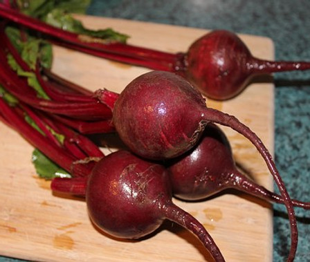 Here is the Detroit Dark Red Beet, Beta vulgaris. Itis a Biennial and has been a favorite since the 1890's! They are a dark red beet with high sugar content that makes the best juice. They get to around 3 inches roundbut can get much larger in loose an loamy soils. This verity is best for canning or juicing. The leaves are great in salads and can be juiced as well. The juice is very sweet and has a smooth flavor. great when mixed with carrot, apple and a twist of ginger! We also recommend this variety as a microgreen and sprouts. Open pollinated 50 to 60 days till harvest or let it winter over for seed.