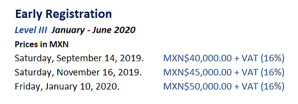 Early Registration 2020 Level III.PNG