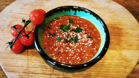 Spicy Moroccan tomato jam