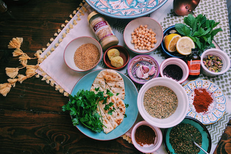 12 essential ingredients for cooking Middle Eastern Food