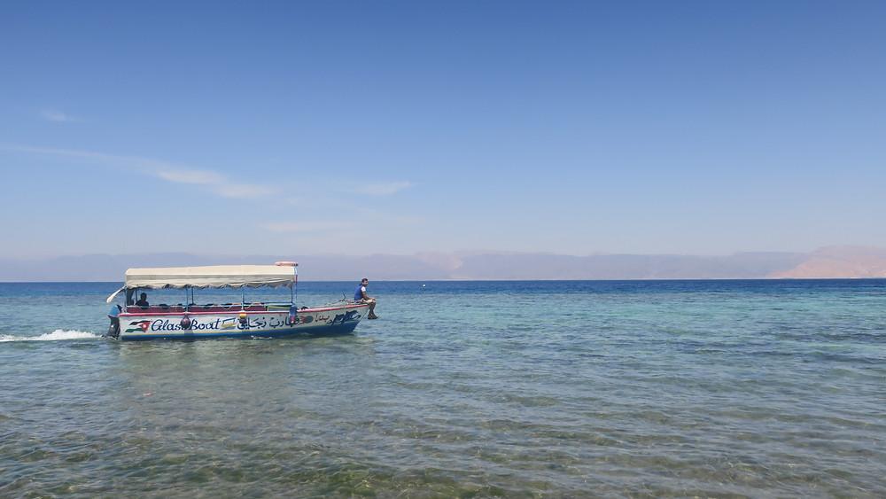 Aqaba red sea boat sailing