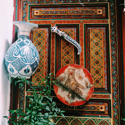 Traditional Morrocan craft