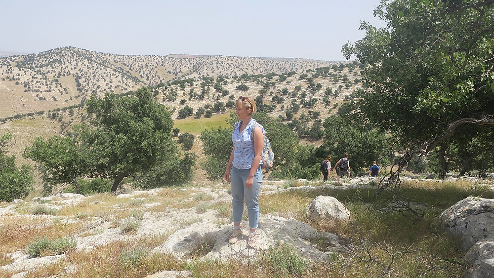 Hiking in the Yarmouk reserve
