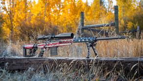 Howa Precision 6.5 Creedmoor American Flag themed rifle.