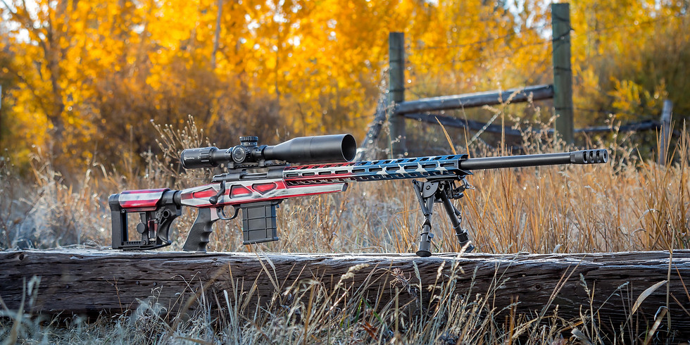 Opportunity Drawing - Howa precision 6.5 Creedmoor, American Flag graphics