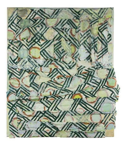Mönstrad plisserad kjol