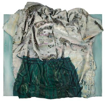Pleated skirt, 2017