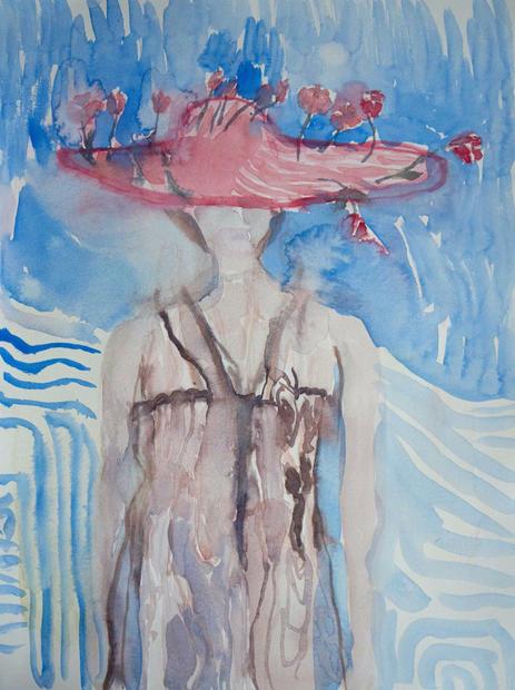 Hatt med rosor (Hat with roses) 2020