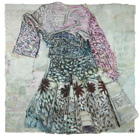 Gerbera daisy dress, 2017