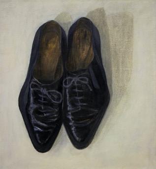 Svarta skor