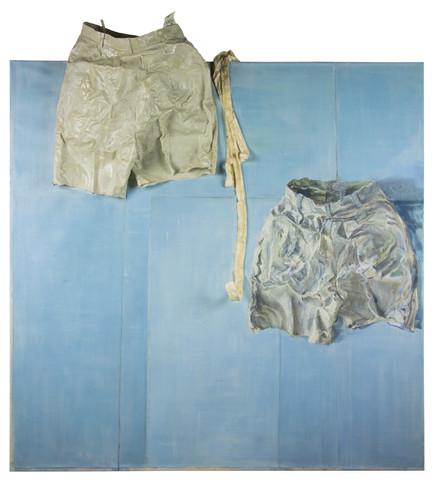 Shorts och skärp textil