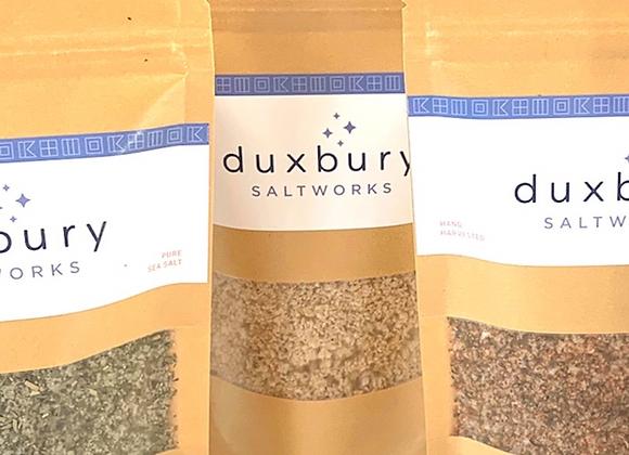Summer Seasonal Natural Sea Salt Blend by Duxbury Saltworks - large kraft bag