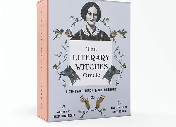 The Literary Witches Oracle Deck + Guide Book by Taisia Kitaiskaia