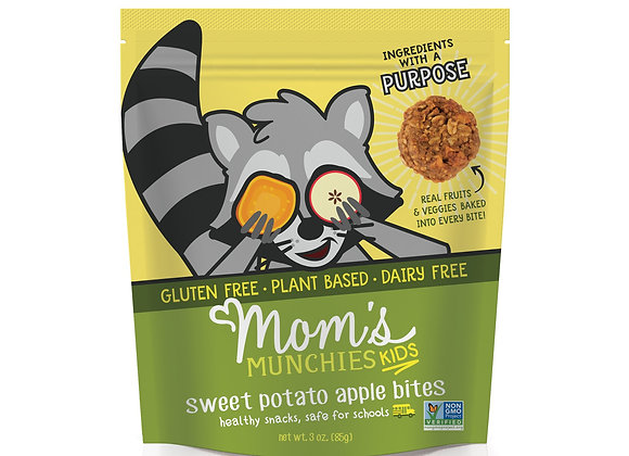 Sweet Potato Apple Bites by Mom's Munchies