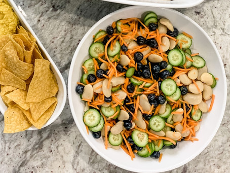 Honey Garden Crunch Salad Recipe