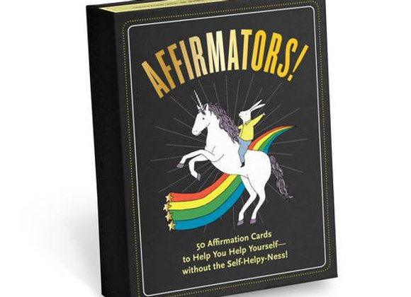 Affirmators! Affirmation Cards by Suzi Barrett