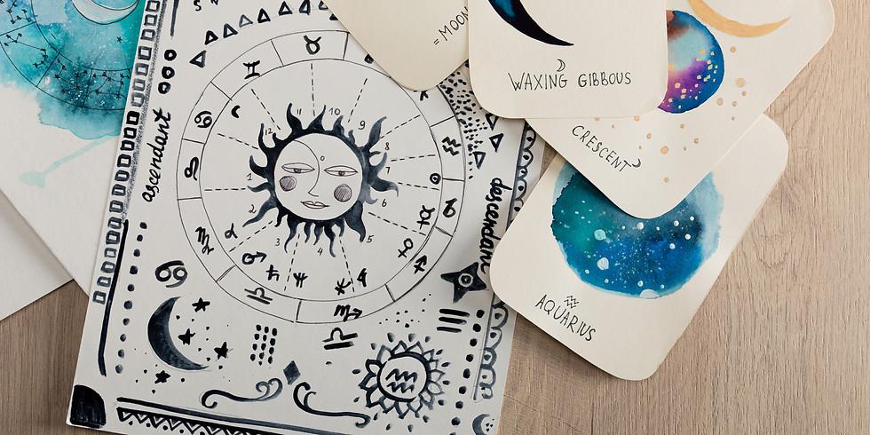 """Aquarius Season"" Celestial Connection Workshop | Virtual Event"
