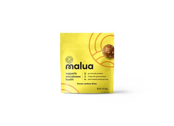 Lemon Cashew Prebiotic Snack Bites by Malua