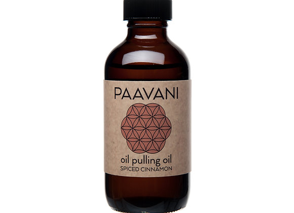 Cinnamon Pulling Oil by PAAVANI Ayurveda - 8 oz
