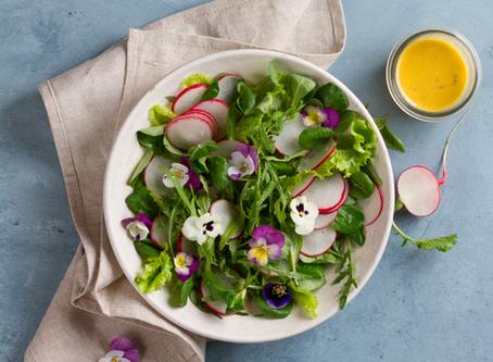 Crispy Citrus Spring Greens Recipe