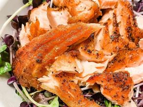 Perfect Pan Seared Salmon (dairy free + gluten free + paleo + keto)