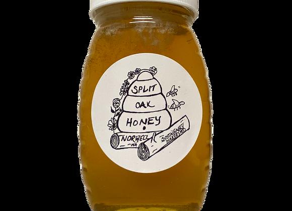 Ultra Local Raw Honey (Norwell, MA) by Split Oak Honey - 8 oz jar