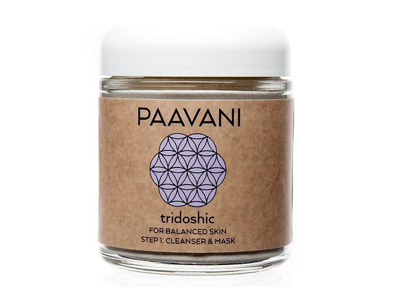 Tridoshic Facial Mask/Cleanser by PAAVANI Ayurveda