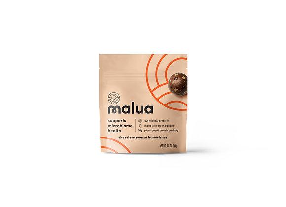 Chocolate Peanut Butter Prebiotic Snack Bites by Malua