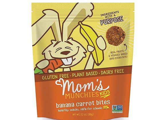 Banana Carrot Bites by Mom's Munchies