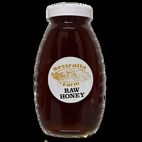 Dark Raw Local Honey (Halifax/Hanson) by Nessralla Farms - 1 lb