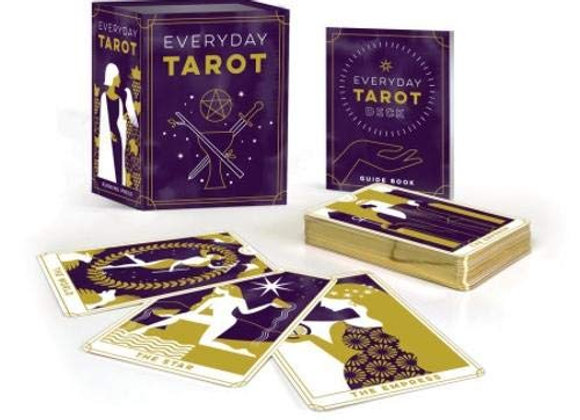 Everyday Tarot Deck + Mini Guide Book by Brigit Esselmon