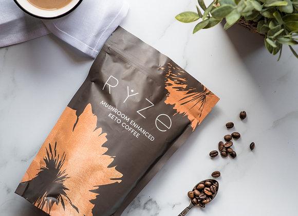 Mushroom Enhanced Coffee by RYZE SUPERFOODS