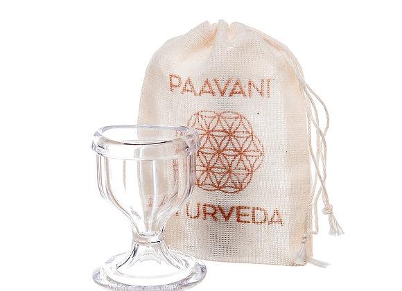 Glass Eye Wash Cup by PAAVANI Ayurveda