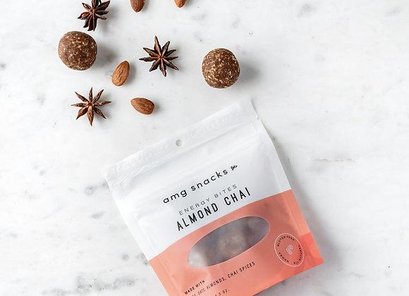 Almond Chai Energy Bites by AMG Snacks - 1 bag