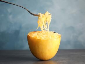 Ridiculously Easy Roasted Spaghetti Squash (dairy free + gluten free + paleo + keto)