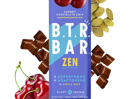 Cherry Chocolate Chip Zen Bars by B.T.R. Bar - 12 pack