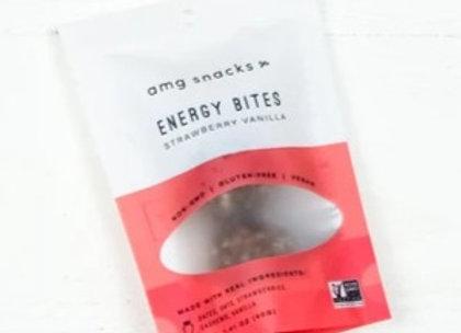 Strawberry Vanilla Energy Bites by AMG Snacks - 1 bag/2 bites